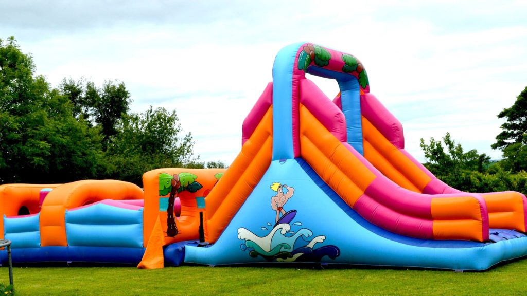 A Bouncy Castle Is Now The New Toy In The Block