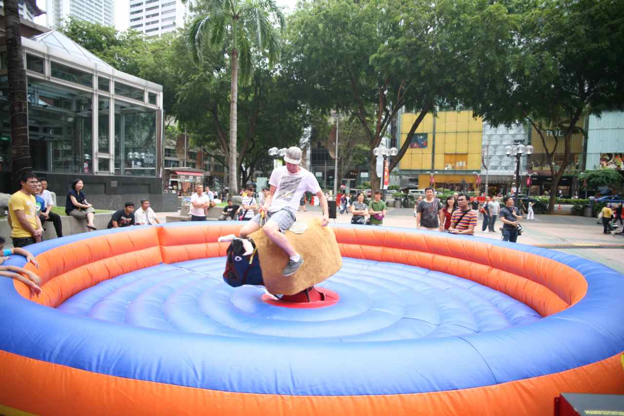 How To Get A Safe Ride Over Bucking Bronco?